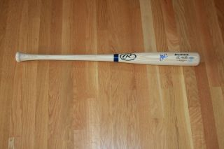 Joe Mauer Autographed Rawlings Game Style Pro Model Bat Minnesota