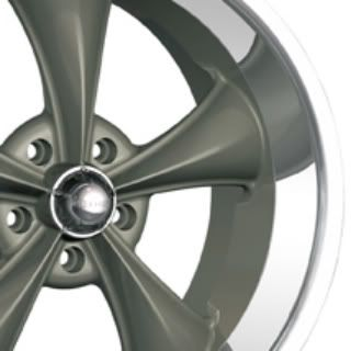 Ridler 695 Wheels, 18x8 fr + 18x9.5 rr, fits: CHEVY GMC C10 C1500