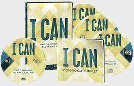 Joel Osteen I Can 3 CDs 1 DVD 31 Day Devotional Devotional Booklet New