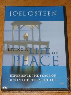 JOEL OSTEEN Living a Life of Peace DVD 6 Message Series NEW ~ SAME DAY