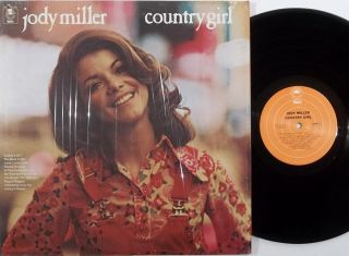 Jody Miller Country Gal Epic LP Country Female Vocal Vinyl Record