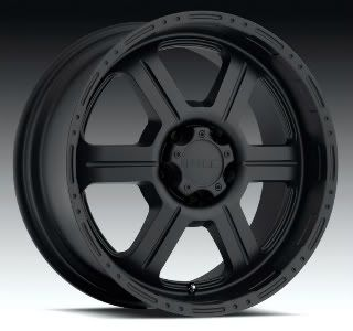 18 x 9 V Tec Offroad 18 inch 326 Matte Black Rims 18x9 Expedition