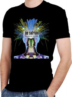 Joe Satriani Official Black T Shirt All Sizes