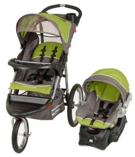 Baby Trend Expedition Jogger Jogging Stroller Car Seat Travel System