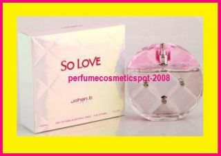 So Love Johan B Perfume for Women 3 0 oz EDP Spray