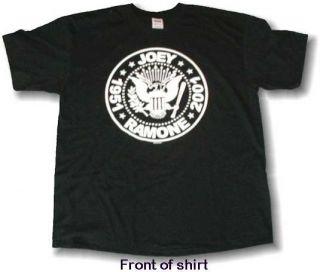 The Ramones Joey Ramone Classic 1951 2001 Rip Shirt