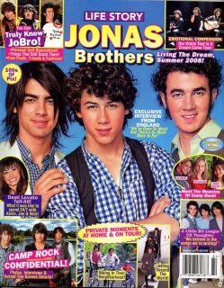 Life Story Magazine Kevin Nick Joe Jonas Brothers