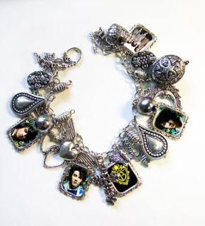 Jonas Brothers Joe Kevin Nick Charm Bracelet