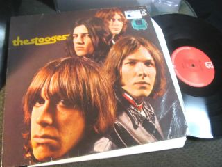 Iggy Pop and The 1st LP First 1969 Debut John Cale Punk RARE