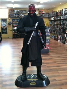 Star Wars Life Size Darth Maul Statue Figure 6 Ft