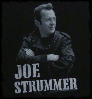 Joe Strummer Leather Jacket Photo T Shirt Official Fast SHIP