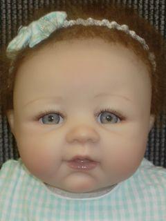 ASHTON DRAKE BOWS OF BEAUTY SO TRULY REAL BABY DOLL SHEILA MICHAELS