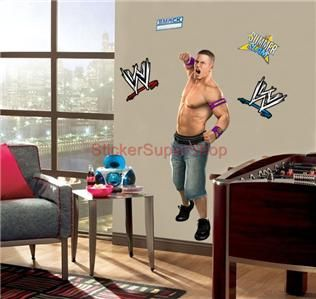 Huge John Cena Decal Removable Wall Sticker Home Decor Art Cenation