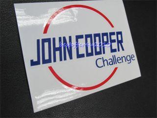 Pcs John Cooper Challenge Decal Sticker JCW Mini s R53 R56 BMW CD122