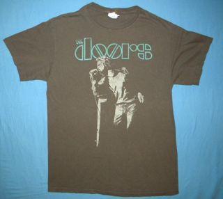 The Doors Jim Morrison T Shirt Musician Rock Band Concert Hippie 60s