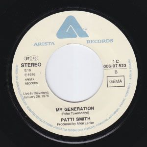 RARE Germany P s 7 Punk KBD John Cale B w My Generation Hear