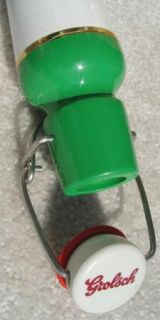 Grolsch Beer Tall Tap Handle with Bail Flip Top Super Nice