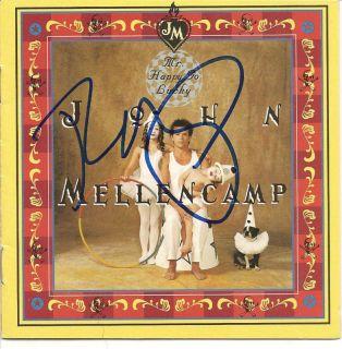 John Mellencamp Autograph John Cougar