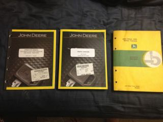 John Deere 1010 2010 3010 4010 Parts Service Operators manual Complete