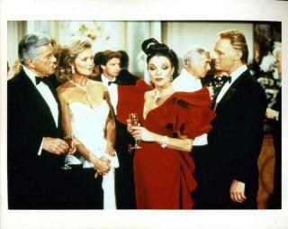 "John Forsythe Joan Collins Linda Evans 8x10"" Photo"