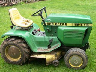 210 John Deere Lawn Tractor