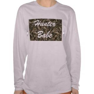 Retro deer antler camouflage hunter tshirts from Zazzle