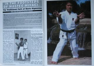 Fighting Arts Magazine Morio Higaonna Black Belt Karate Kung Fu Martial Arts
