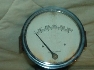 Used 60 Ford Truck John Bean High Pressure Pump Gauge 1266285 Gage Guage 1960
