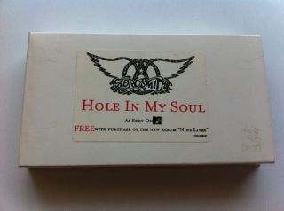 Aerosmith Hole in My Soul Promo VHS Video Eva Mendes
