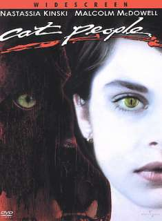 Cat People DVD Nastassja Kinski Malcolm McDowell Annette O'Toole John Heard