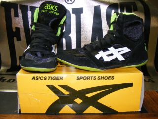 Mens Vintage NIB 1992 Asics Tiger Split Second 2 Wrestling Shoe Model JL 70 SZ