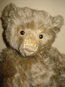 Pepe Jointed Mohair Artist Teddy by Mother Hubbard 1997 Limited Edition 34cm