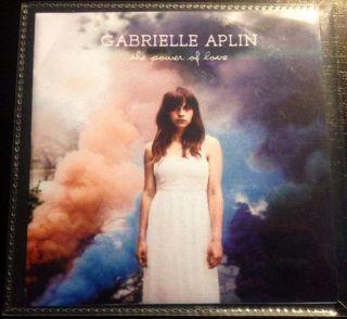 Gabrielle Aplin THE POWER OF LOVE UK PRO CD John lewis advert song FGTH TRK