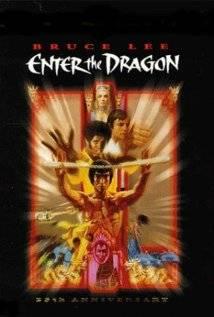 Enter the Dragon 25th Anniversary Movie Poster Bruce Lee John Saxon