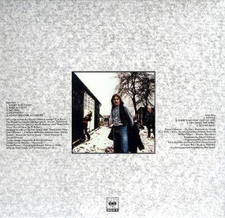 David Gilmour Self Titled CD Mini LP OBI