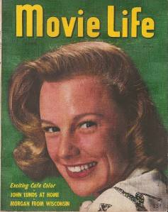 Movie Life Magazine Apr 1947 June Allyson