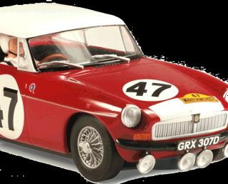 Scalextric Slot Car C3270A Celebrating 50 Years of MGB