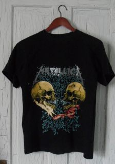 Metallica Vintage Concert T shirt M Black Rock Roll Tee Im Inside Im You
