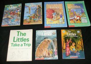 7 THE LITTLES CHILDREN BOOK LOT John Peterson Chapter Read 3rd grade level