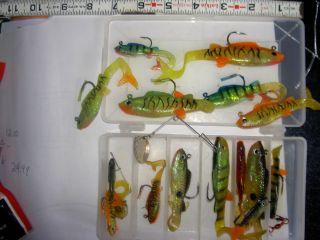 Slurpies Soft Plastic Swim Baits Jigs John Peterson Walleye Pike Bass Crappie