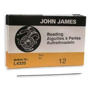 John James English Beading Needles Size 12 41433