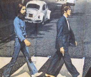 New Licensed The Beatles Abbey Road Cotton Bath Beach Pool Gift Towel John Paul