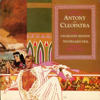 LP OST Heston in Antony Cleopatra John Scott