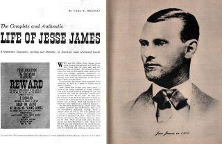 Saga FIRE ENGINE COVER Jesse James BABOON SLAYER Trout Fishing USS RAINBOW 1954
