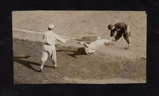 c 1913 JOHN McGRAW Vintage Baseball Game Action Photo
