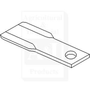 John Deere Cutter Blade W34286