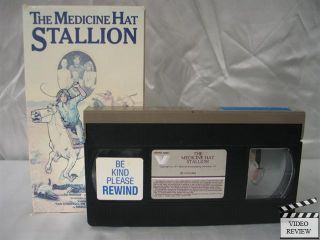 Medicine Hat Stallion The VHS Leif Garrett John Quade