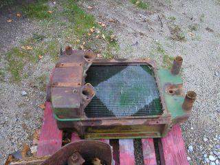 John Deere R diesel tractor original JD radiator