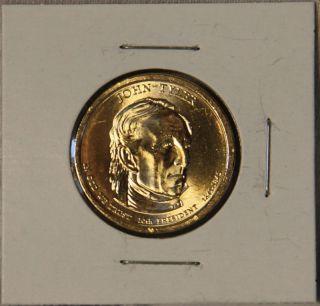 John yler 2009 D Presidenial Dollar Coin |