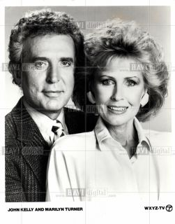1981 Press Photo John Kelly and Marilyn Turner